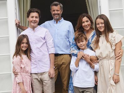 Princess Mary and her family