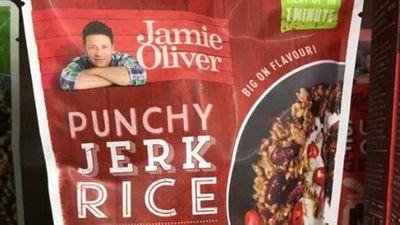 Jamie Oliver cops backlash for 'jerk' rice product