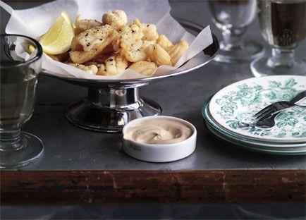 Salt and pepper squid