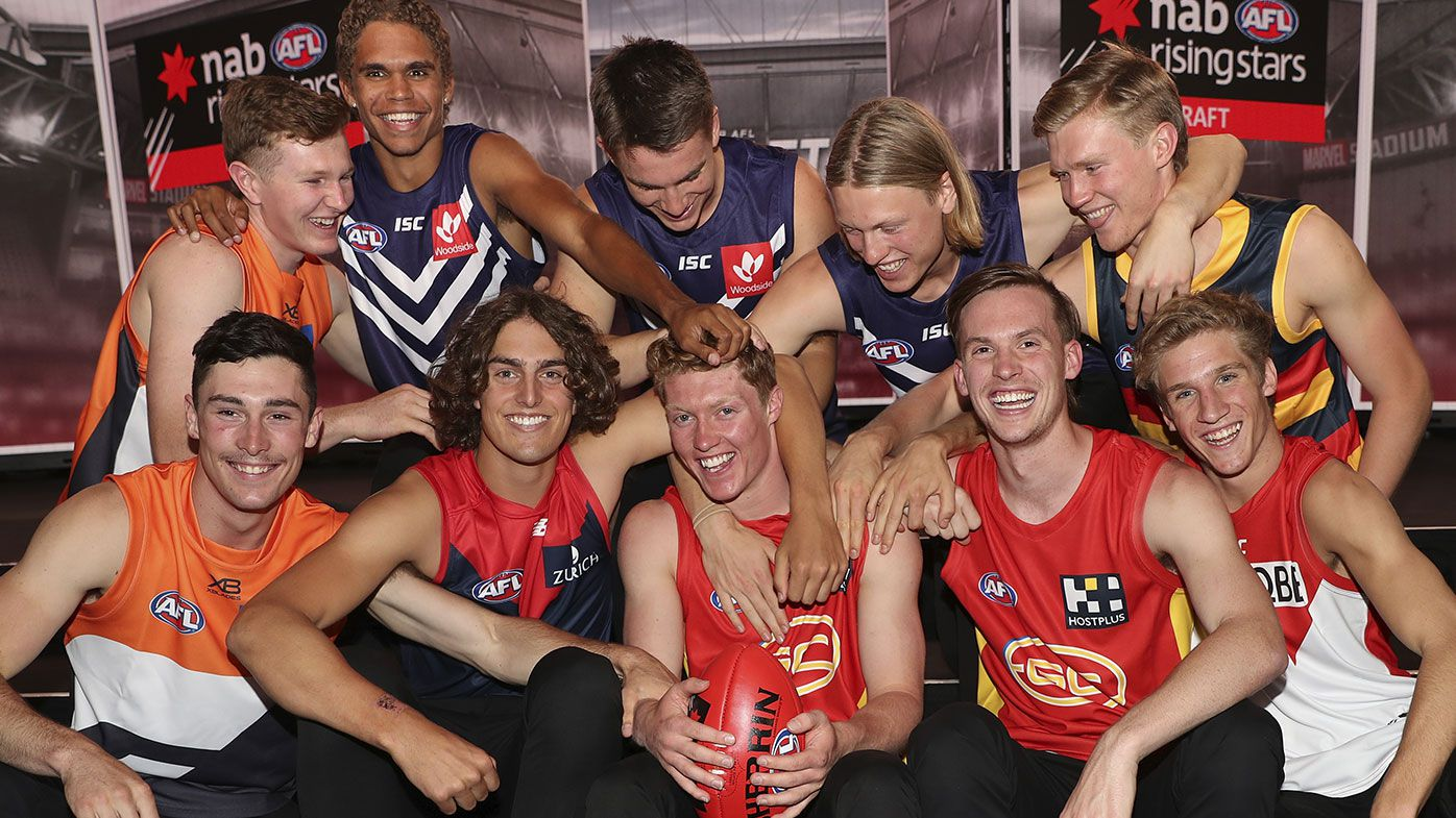 Carlton raise havoc in round one of the 2019 AFL Draft