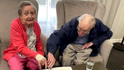 Florence and Graham have been married for 67 years.