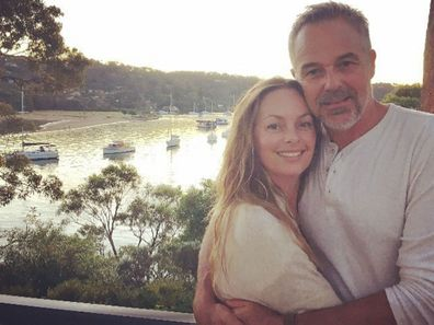 Cameron Daddo and wife Alison Brahe