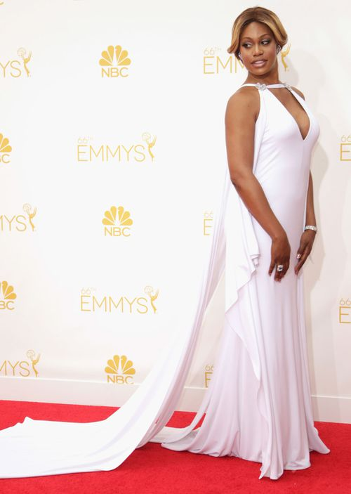 Orange is the New Black star Laverne Cox. (Getty Images)