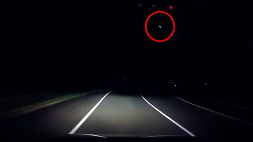 An object has streaked across Queensland's night sky on Sunday, with several eyewitness reports and multiple videos capturing the ariel spectacle.