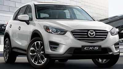 The Mazda CX-5 Grand Touring diesel was rated the best value Compact SUV under $70,000, with the Range Rover Evoque Pure coming second, and the Audi Q3 2.0 TFSI Sport Quattro coming third. (Supplied)