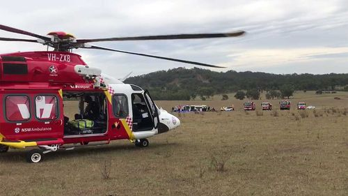 Six injured in NSW balloon accident