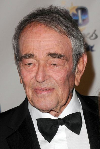 Stuart Whitman arrives for Norby Walters' 22nd Annual Night Of 100 Stars Oscar Viewing Gala held at The Beverly Hills Hotel on February 26, 2012 in Beverly Hills, California.