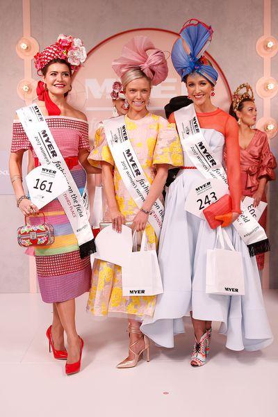 Myer Fashions on Field 2017 Winners
