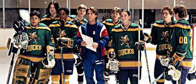 Emilio Estevez played Coach Gordon Bombay in the original Mighty Ducks franchise.