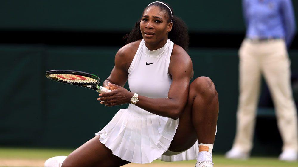 Serena powers into Wimbledon quarters