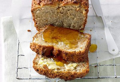 """<a href=""""http://kitchen.nine.com.au/2016/05/05/13/13/banana-bread-with-psyllium-husks"""" target=""""_top"""">Banana bread with psyllium husks</a><br> <br> <a href=""""http://kitchen.nine.com.au/2016/06/06/23/03/get-a-loaf-of-these-bread-recipes/"""" target=""""_top"""">More bread recipes</a>"""