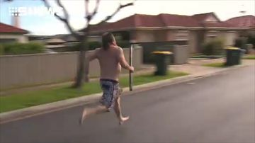 'I run faster semi-naked'