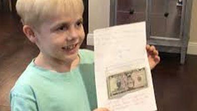 School boy gives teacher birthday money as pay rise 2