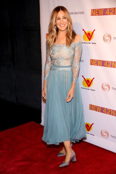 Sarah Jessica Parker at the New 42nd Street 25th Anniversary Gala, 2016