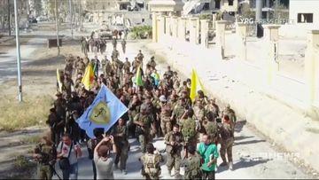 Self-proclaimed 'capital' of the Islamic State liberated
