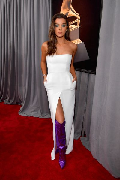 Singer and actress Hailee Steinfeld in Alexandre Vauthier Spring 2018