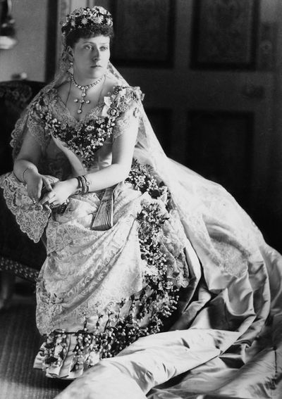 Princess Beatrice, married 1885