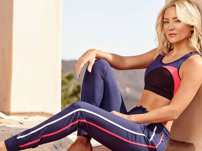 "Actress Kate Hudson co-founded and fronts activewear brand,<a href=""https://www.fabletics.com/kates-picks"" target=""_blank"" title="" Fabletics""> Fabletics</a>"
