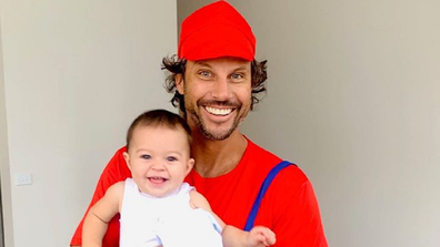 Sam Wood with daughter Charlie