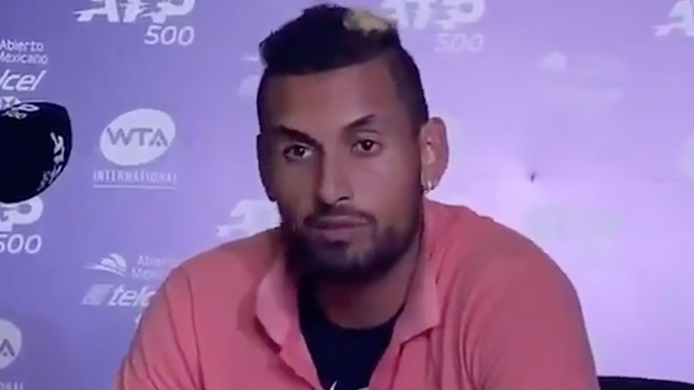 Nick Kyrgios blasts fans at Acapulco Open for booing him off court