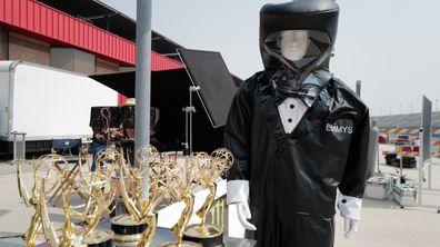 Emmys presenters will wear hazmat tuxedos
