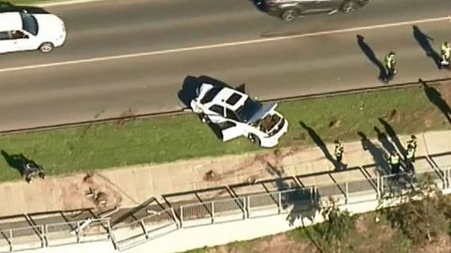 Three people are in hospital in a stable condition. (9NEWS)