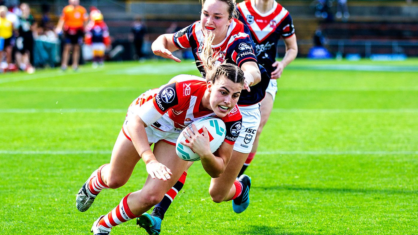 NRLW - Jessica Sergis of the Dragons