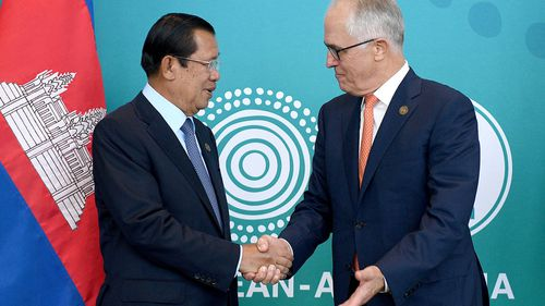 "Prime Minister Malcolm Turnbull is expected to announce a $30 million investment in ""smart cities"" in southeast Asia today at the ASEAN Summit in Sydney. Picture: AAP."