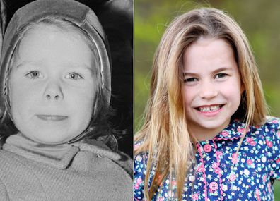 Others point out Charlotte's resemblance to Princess Margaret's daughter Lady Sarah.