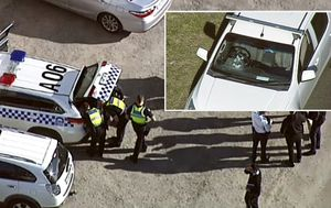 Driver allegedly fires gun at ute in road rage shooting on Melbourne's Hume Highway