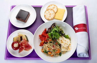 Virgin Australia Dinner