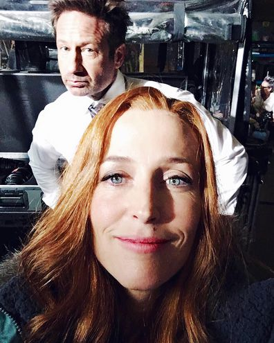 Gillian Anderson, leaves Hollywood, what happened, The X-Files, David Duchovny