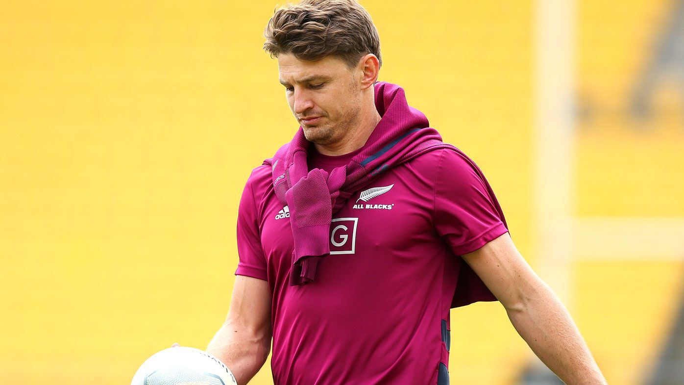 Beauden Barrett of the All Blacks. (Getty)