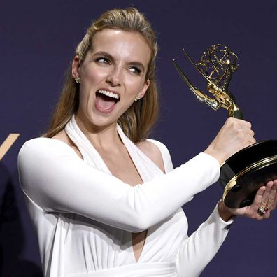 Jodie Comer won her first Emmy for Outstanding drama actress in 'Killing Eve.
