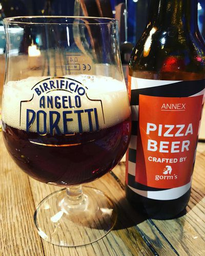 <p>Beer infused with the taste of cheese, tomato, garlic and herbs. If there is a mountain, we will climb it.</p> <p>Image Source: Instagram:&#160;yardenajensen1</p>