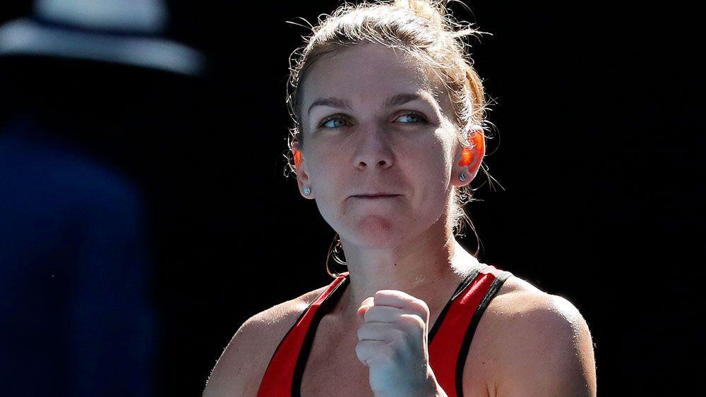 Halep clubs Pliskova to reach Australian Open semis, pays tribute to Australian inspiration