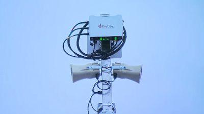Loudspeaker network to warn of terror attacks almost complete
