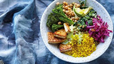 """<a href=""""http://kitchen.nine.com.au/2017/04/04/16/07/buddha-bliss-bowl"""" target=""""_top"""">Buddha bliss bowl</a><br /> <br /> <a href=""""http://kitchen.nine.com.au/2017/04/04/22/55/buddha-bowls-vegan"""" target=""""_top"""">RELATED: The magic of a Buddha bowl unpacked</a>"""