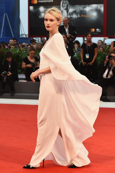 Caterina Shulha at the 2017 Venice Film Festival