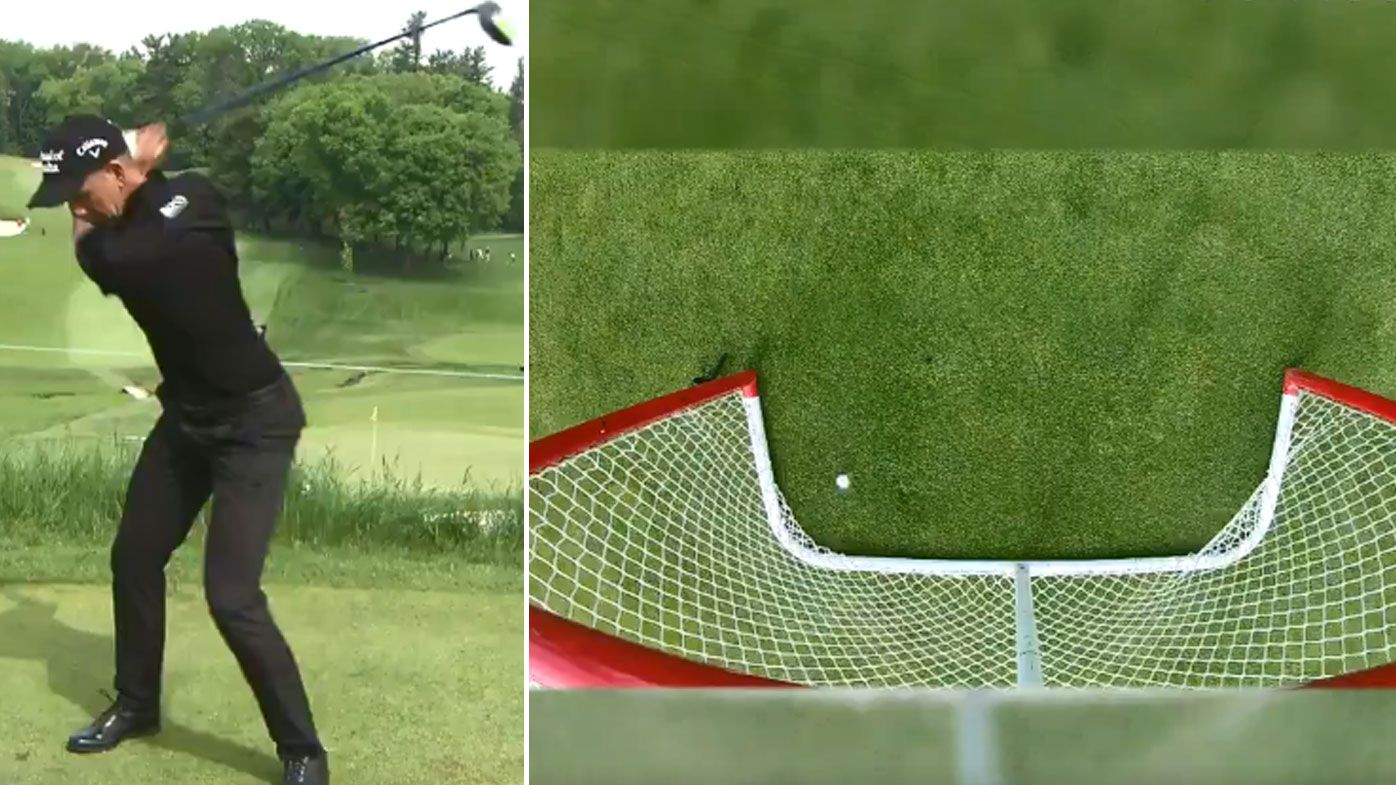 Stenson nails a 'goal-in-one'