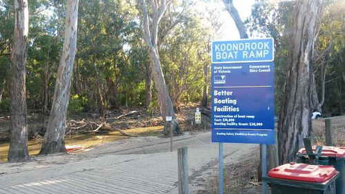 The boy was swimming at a campsite in Koondrook, Victoria. (9NEWS)