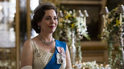 Olivia Colman as Queen Elizabeth II as seen on Netflix's the Crown.