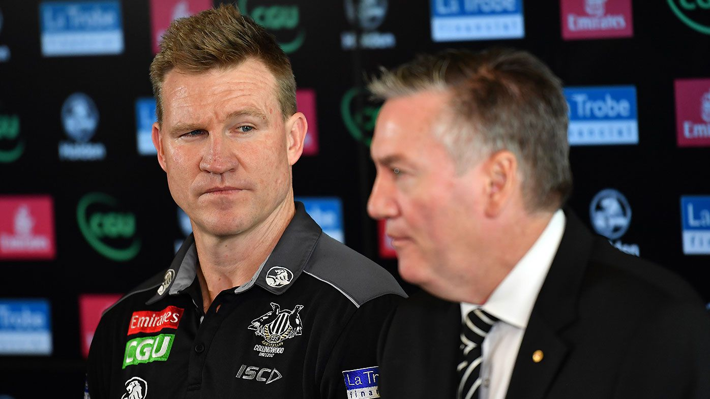 Caroline Wilson calls for Nathan Buckley to issue apology to Eddie McGuire after COVID-19 controversy