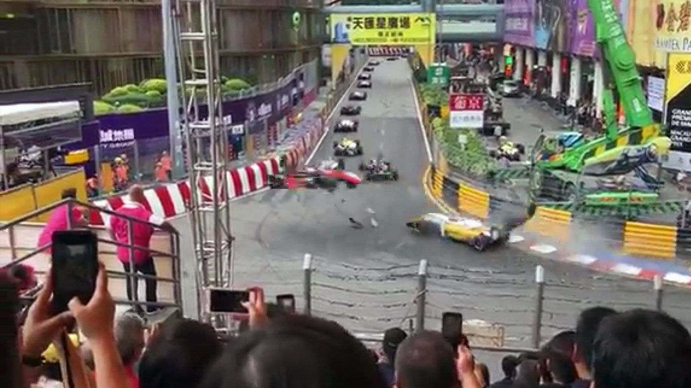 FIA promises probe into Macau Grand Prix aerial crash