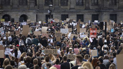 George Floyd protests, Amsterdam