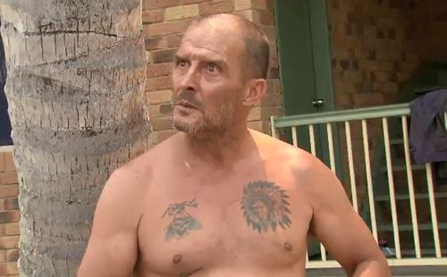 """""""Wild"""" Wayne Reynolds is annoying his neighbours with his consistent loud revving and violent behaviour."""