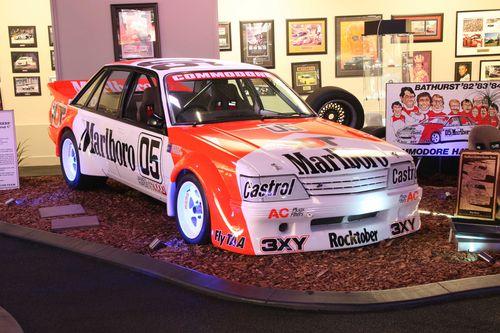 Some of Peter Brock's legendary Commodores, such as the 'Big Banger' will be up for grabs in the coming auction. Picture: Supplied