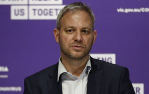 Victoria's Chief Health Officer Brett Sutton laughs off resignation rumours