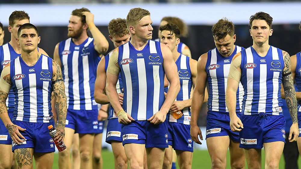 Calls for North Melbourne Kangaroos to relocate to Tasmania