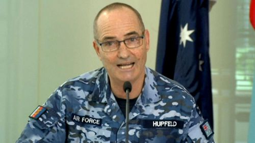 Air Marshall Mel Hupfeld, Australian Defence Force Chief of Joint Operations.